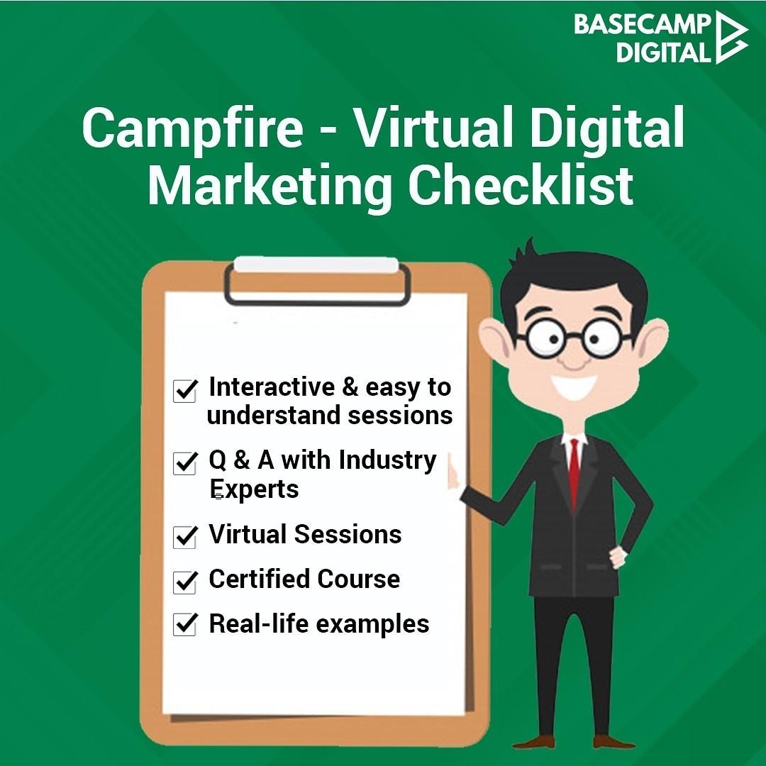 Best Online Digital Marketing Course with Certification  BaseCamp Dig